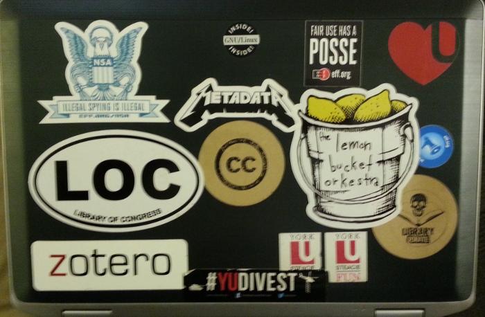 Old laptop.
